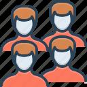 adult, fellow, group, human, men, people, team
