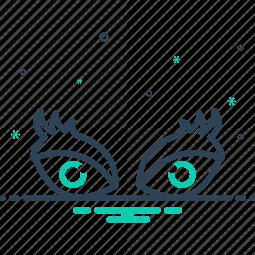 eyeball, eyes, eyesight, netra, ophthalmic, vision, watch icon