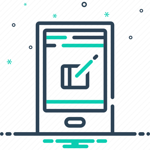 legwork, letter, message, post, report icon
