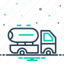 delivery, milk, supplier, supply, transport, truck, vehicle icon