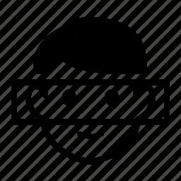 biometrics, facial, recognition icon