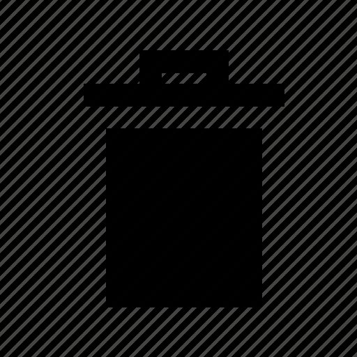 garbage, trash, waste bin icon