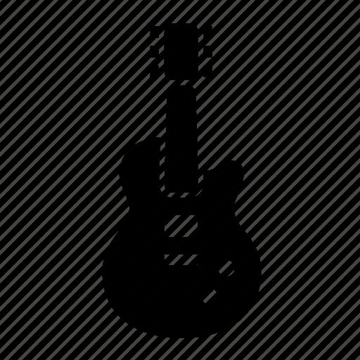 electric, guitar, music, musician icon