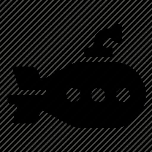 boat, ship, submarine, submersible icon