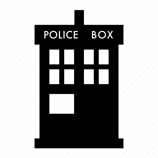 doctor, machine, tardis, time, who icon