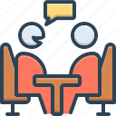 counsel, consultant, advice, opinion, rede icon