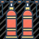 oxide, gas, tank, oxygen, cylinder, medical