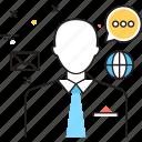 business consulting, consulting, consulting manager, entrepreneurship, meetup icon