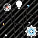 achievement, developer, engineer, management, manager icon