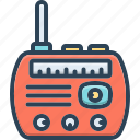 radios, music, frequency, vintage, wireless, antenna, broadcast