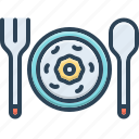 portions, food, dish, cutlery, plate, restaurant, serving