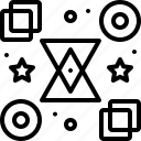 bloomicon, logo, shape