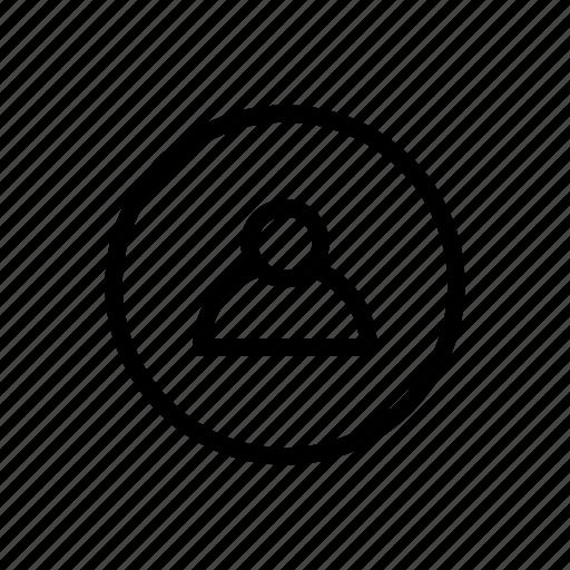 avatar, body, head, man, person, registration, user icon