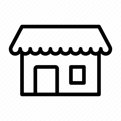 building, door, grocery, house, roof, shop, store icon
