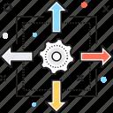business plan, network, plan, sharing, workflow planning icon