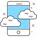 cloud computing, cloud connection, cloud data, cloud network, icloud icon