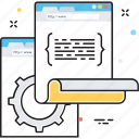 code extension, coding, programing coding, programming, web coding icon