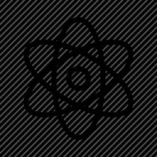 atomic, atomizing, core, nuclear icon