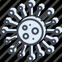 atom, chlamydia, molecule, trachomatis icon
