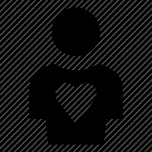 avatar, heart, profile, profile picture, self love, user, user profile icon
