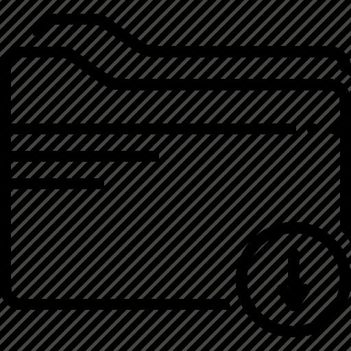 arrow, download, download folder, file, folder icon