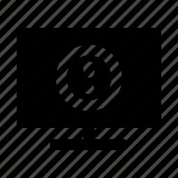 bluescreen, bug, computer, display, error icon