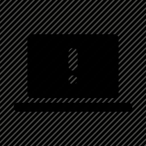 bluescreen, bug, computer, display, error, notebook icon