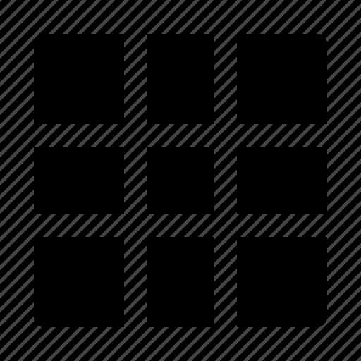 big, grid, gridview, snap icon