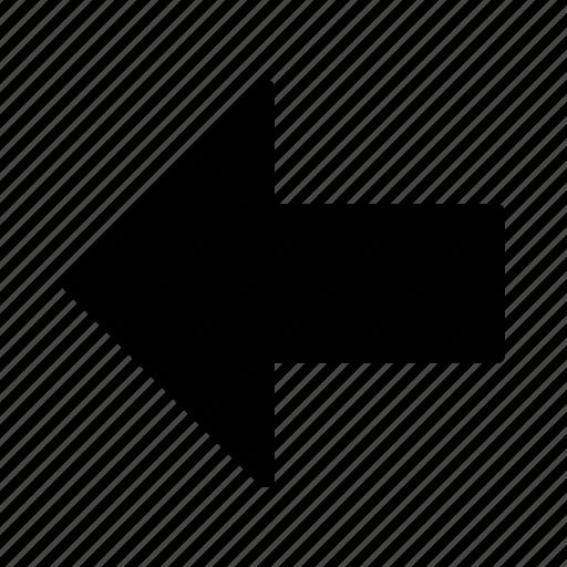arrow, back, backarrow, fill, undo icon