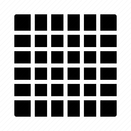 fine, grid, gridview, snap icon