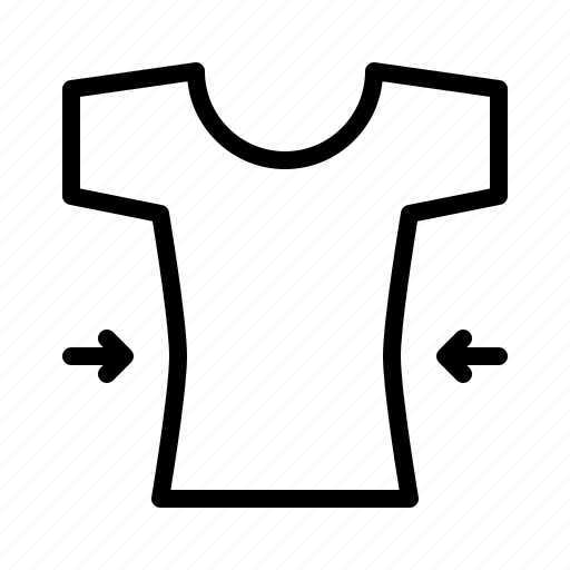 bespoke, cloth, cut, material, shirt icon