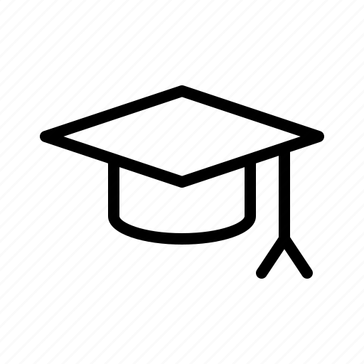 education, freshman, learn, mortarboard, school icon