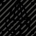 ballast, baulk, brick bat, clod, hardcore, orthodox, staunch icon