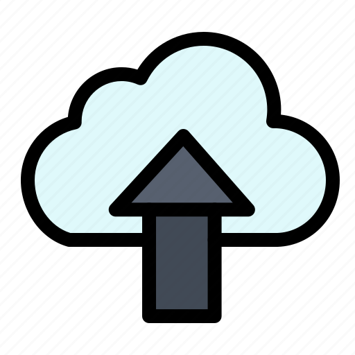 Arrow, cloud, up, upload icon - Download on Iconfinder