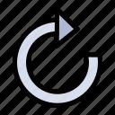 arrow, refresh, restore icon