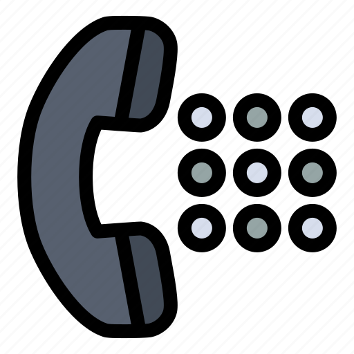 apps, call, dial, phone icon