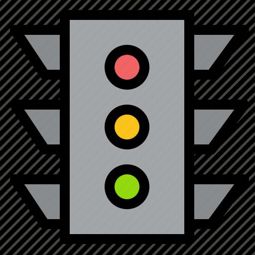 Light, navigation, rule, signal, traffic icon - Download on Iconfinder