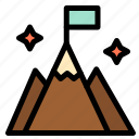 flag, interface, mountain, user