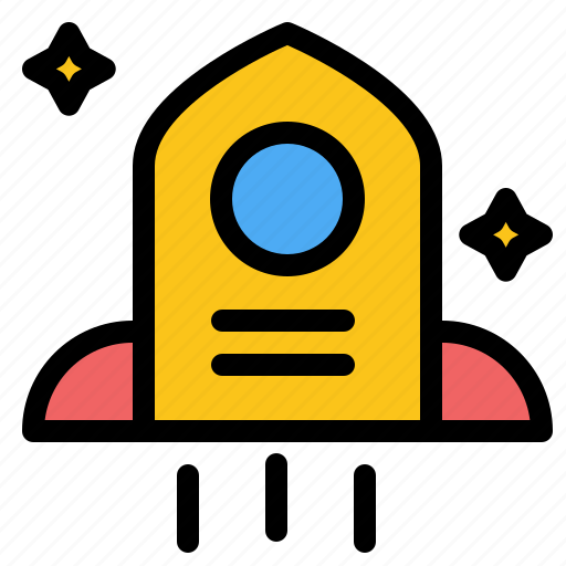 Astronomy, rocket, space icon - Download on Iconfinder