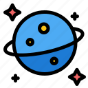 planet, saturn, space