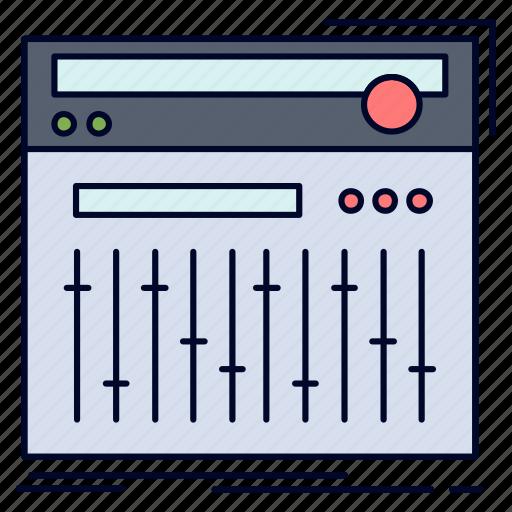 control, controller, midi, sound, studio icon