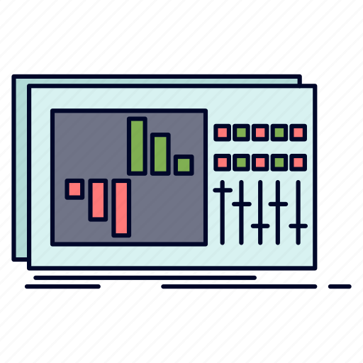 Control, equalization, equalizer, sound, studio icon - Download on Iconfinder