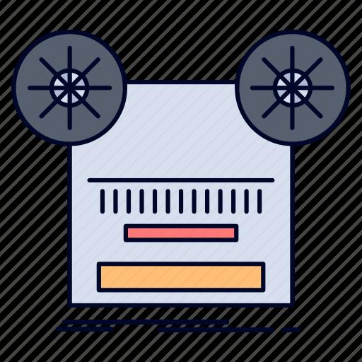Music, record, recording, retro, tape icon - Download on Iconfinder
