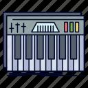 controller, keyboard, keys, midi, sound
