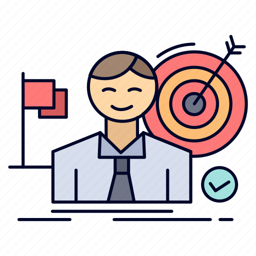 Business, goal, hit, market, success icon - Download on Iconfinder