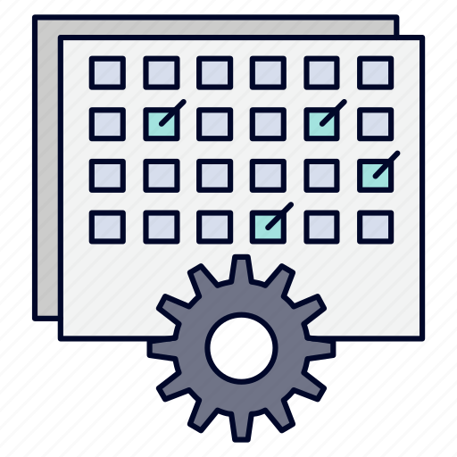 event, management, processing, schedule, timing icon