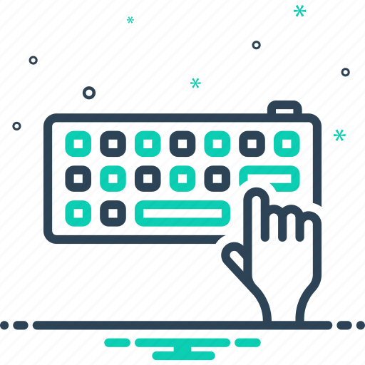 arrow, computer, enter, hardware, keyboard, technology, touch icon