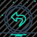 astern, back, backwards, behindhand, hindmost, posterior, rearmost icon