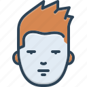 character, countenance, facade, face, hipster, mask, visage icon