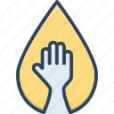 deficiency, help, lack, paucity, reduction, scarcity, shortage icon